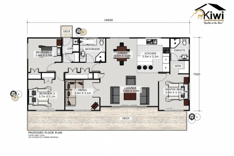 Falcon Floor Plan