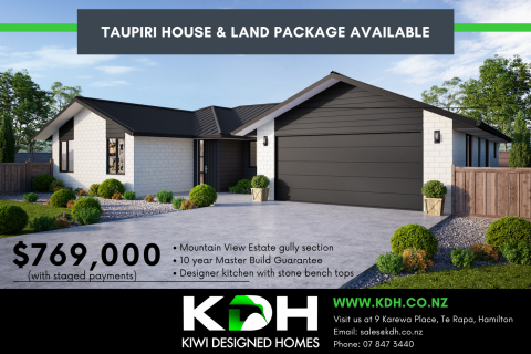 House and Land Package - Taupiri