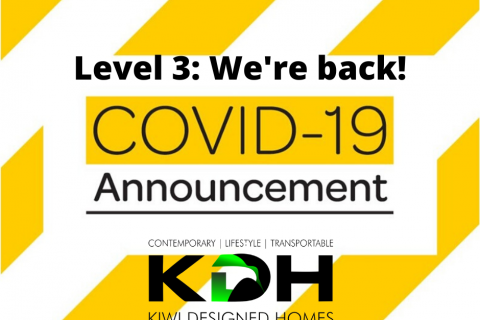 Covid Update -We are back!