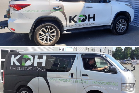 Check out our new KDH Vehicle Branding