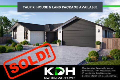 Taupiri House and Land Package SOLD
